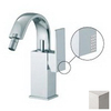 Nameeks Fima Carlo Frattini Brick Chic Brushed Nickel Horizontal Spray Bidet Faucet Trim Kit