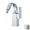 Nameeks Fima Carlo Frattini Brick Brushed Nickel Horizontal Spray Bidet Faucet Trim Kit