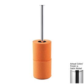 Countertop Toilet Paper Holder : ... Satin Nickel Freestanding Countertop Toilet Paper Holder at Lowes.com