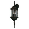 Kenroy Home Custom Fit 26-in Black Outdoor Wall Light