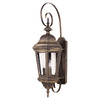 Kenroy Home Estate 30-in Antique Patina Outdoor Wall Light