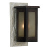 Kenroy Home Icefield 16-in Slate Outdoor Wall Light
