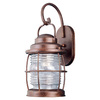 Kenroy Home Beacon 17-in Gilded Copper Outdoor Wall Light