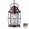 Kenroy Home Beacon 13-in Gilded Copper Outdoor Pendant Light