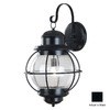 Kenroy Home Hatteras 27-in Black Outdoor Wall Light