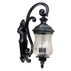 Kenroy Home Troubadour 27-in Ebony Pearl Outdoor Wall Light
