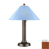 Patio Living Concepts 34-in Metal Plug-in Outdoor Table Lamp