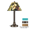Patio Living Concepts 34-in Bronze Outdoor Table Lamp with Aruba Shade