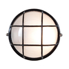 Access Lighting Nauticus 7.5-in H Black Outdoor Wall Light