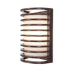 Access Lighting Poseidon 10-3/4-in Bronze Outdoor Wall Light