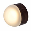 Access Lighting MicroMoon 5-in Bronze Outdoor Flush-Mount Light