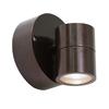 Access Lighting Ko 4.25-in H Bronze Outdoor Wall Light