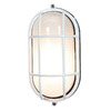 Access Lighting Nauticus 4-1/4-in White Outdoor Wall Light
