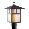 Livex Lighting Montclaire Mission 18-in Bronze Pier-Mounted Light