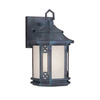 Livex Lighting Tahoe 12-in Charcoal Outdoor Wall Light