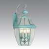 Livex Lighting Monterey 22-1/4-in Verdigris Outdoor Wall Light