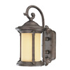 Thomas Lighting Fleur De Lis 16-1/2-in Colonial Bronze Outdoor Wall Light