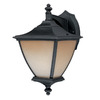 Thomas Lighting Trent 14-in Matte Black Outdoor Wall Light