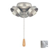 Thomas Lighting 3-Light Brushed Nickel Ceiling Fan Light Kit
