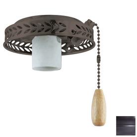 Thomas Lighting 1-Light Painted Bronze Ceiling Fan Light Kit