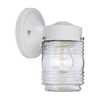 Acclaim Lighting Builders Choice 7-1/4-in White Outdoor Wall Light