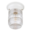 Acclaim Lighting Builder's Choice 4-1/2-in White Outdoor Flush-Mount Light