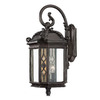 Acclaim Lighting Florence 25-in Marbleized Mahogany Outdoor Wall Light