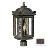 Acclaim Lighting Florence 22-in Black Coral Pier Mount Light