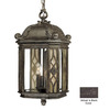 Acclaim Lighting Florence 24-in Black Coral Outdoor Pendant Light