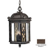 Acclaim Lighting Florence 24-in Marbleized Mahogany Outdoor Pendant Light