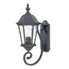 Acclaim Lighting Telfair 20-in Matte Black Outdoor Wall Light