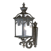 Acclaim Lighting Belmont 28-1/2-in Black Gold Outdoor Wall Light