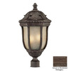 Acclaim Lighting Renaissance 24-1/2-in Marbleized Mahogany Pier Mount Light