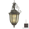 Acclaim Lighting Renaissance 40-in Black Coral Outdoor Pendant Light