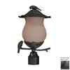 Acclaim Lighting Avian 18.5-in H Black Gold Post Light