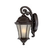 Acclaim Lighting Waverly 16-1/2-in Black Coral Outdoor Wall Light
