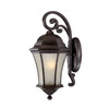 Acclaim Lighting Waverly 19-1/2-in Black Coral Outdoor Wall Light