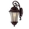 Acclaim Lighting Waverly 26-3/4-in Black Coral Outdoor Wall Light