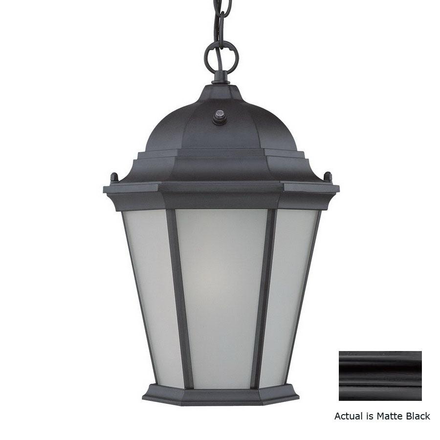 shop acclaim lighting richmond 14 in h black solar outdoor