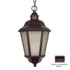 Acclaim Lighting Beaufort 18-1/2-in Architectural Bronze Solar Outdoor Pendant Light ENERGY STAR