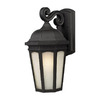 Z-Lite Newport 11-7/8-in Black Outdoor Wall Light
