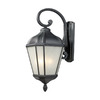 Z-Lite Waverly 31-1/4-in Black Outdoor Wall Light