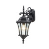 Z-Lite Wakefield 21-in Black Outdoor Wall Light