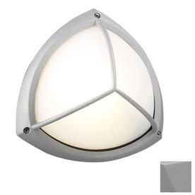 PLC Lighting Canterbury 10-in Gray Outdoor Flush-Mount Light