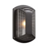 PLC Lighting Athena 10-in Architectural Bronze Outdoor Wall Light