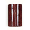A-19 Nature 9.5-in H Cinnamon Outdoor Wall Light
