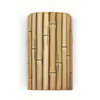 A-19 Nature 9.5-in H Natural Outdoor Wall Light