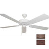 Volume International 52-in Marti Prairie Rock Ceiling Fan ENERGY STAR