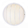 Volume International 10-1/4-in White Outdoor Wall Light