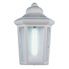 Volume International 12-in White Outdoor Wall Light
